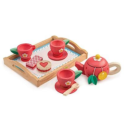 Tender Leaf Toys木製家家酒玩具-果漾花香午茶玩具組
