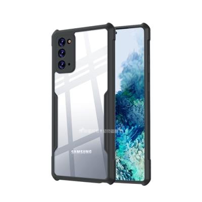 XUNDD 軍事防摔 三星 Samsung Galaxy Note20 5G 清透保護殼 手機殼(深槍灰)