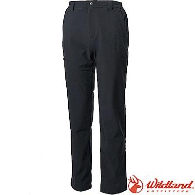 Wildland 荒野 W2328-54黑色 男輕三層防風保暖長褲