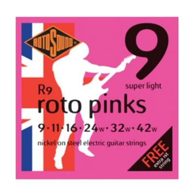 Rotosound R9 09-42 電吉他套弦 二入款