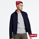 Levis 男款  復古小立領外套 / 藍染 / 小Logo 布章
