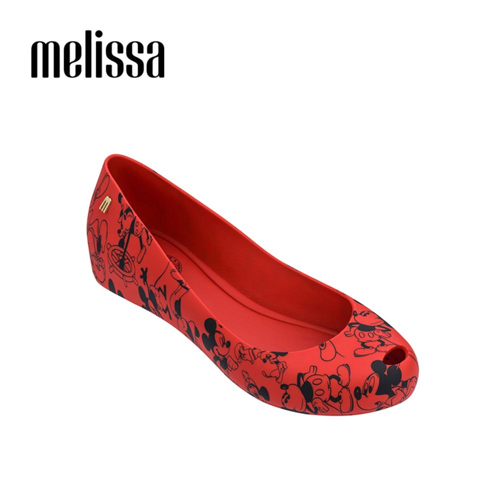 Melissa X Mickey 周年限定特別款娃娃鞋-紅色