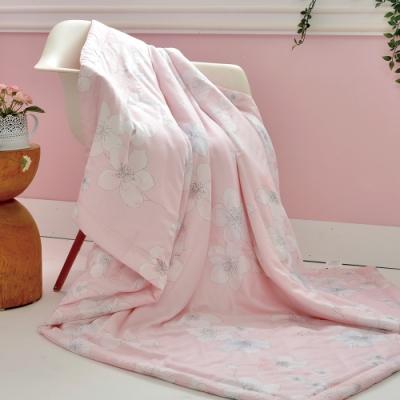 義大利La Belle 粉櫻漫舞 天然木漿纖維 莫黛爾 涼感 涼被(5x6尺)
