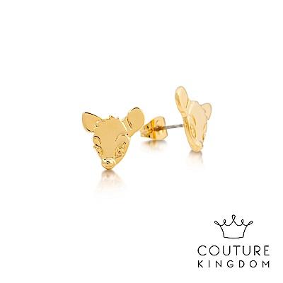 Disney Jewellery by Couture Kingdom 小鹿斑比鍍金耳釘