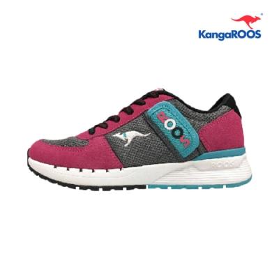 KangaROOS COMBAT- CB 經典口袋女慢跑鞋 桃紅 KW91053