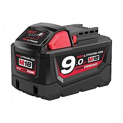 Milwaukee美沃奇 18V鋰電專用電池9.0AH M18B9