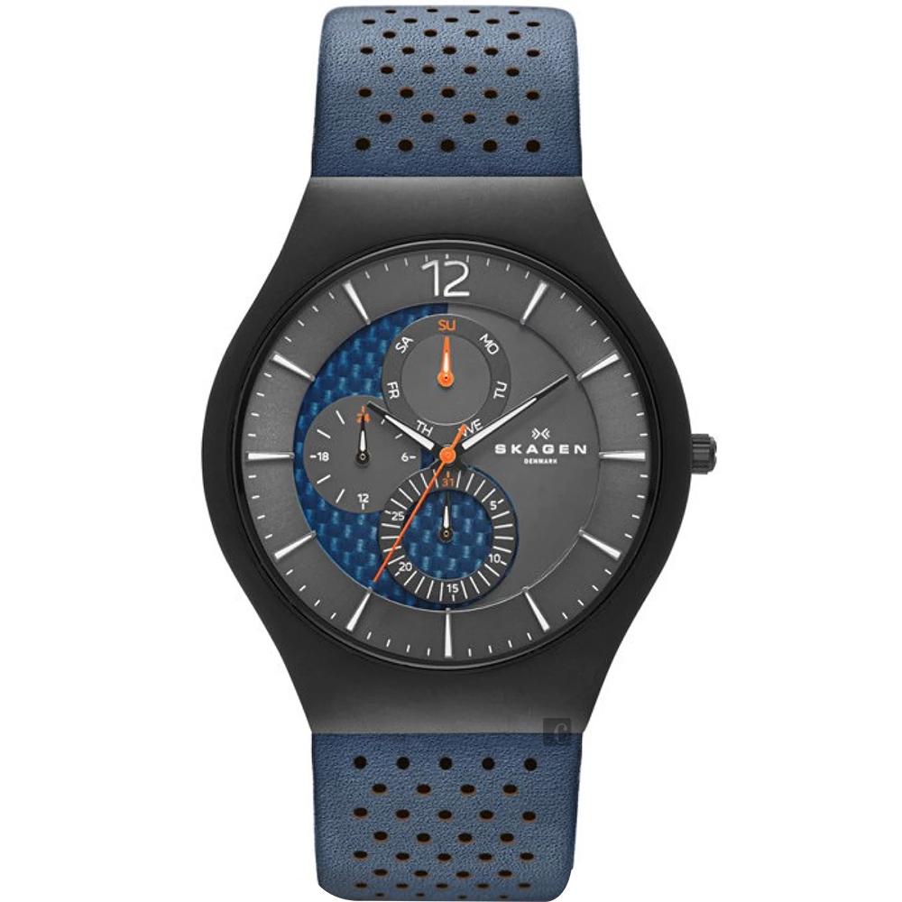 Skagen Grenen Titanium 鈦金屬日曆石英手錶(SKW6149)