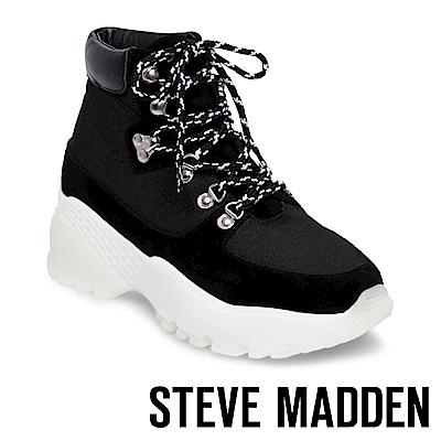 STEVE MADDEN-STAMPEDE潮流款徒步旅行運動休閒鞋-黑色