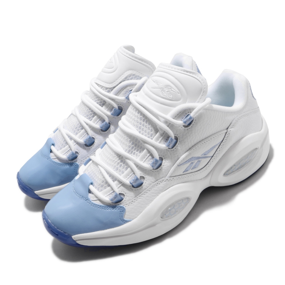Reebok 籃球鞋 Question Low 運動 男鞋 Iverson 明星款 避震 包覆 穿搭 白 藍 FX5000