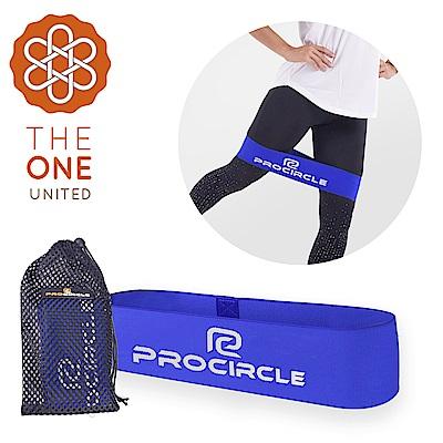 【The One】瑜珈健身 寬版針織阻力帶/彈力帶(中階藍)45磅 @ Y!購物