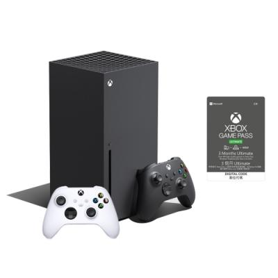 微軟Xbox Series X 1TB遊戲主機 + Game pass Ultimate 3個月+ 手把一隻(同捆組)