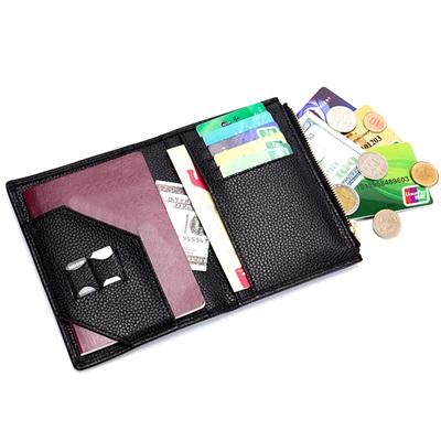玩皮工坊-真皮頭層牛皮出國旅遊護照包護照夾卡片包-PA01