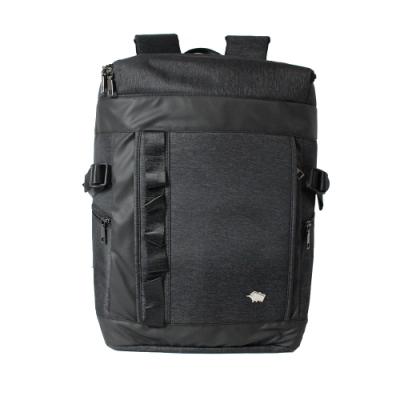 DRAKA 達卡 - 衝鋒者Charge系列-筆電後背包-浪黑