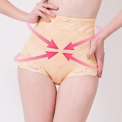 可蘭霓Clany 翹俏臀M-2XL蕾絲提拉高腰塑身褲  春漾膚