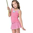 聖手牌 泳裝 粉紅朱玉兩件式兒童女童泳裝