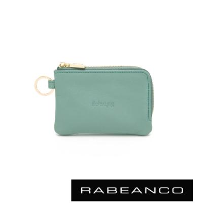 RABEANCO 迷時尚系列鑰匙零錢包 薄荷綠