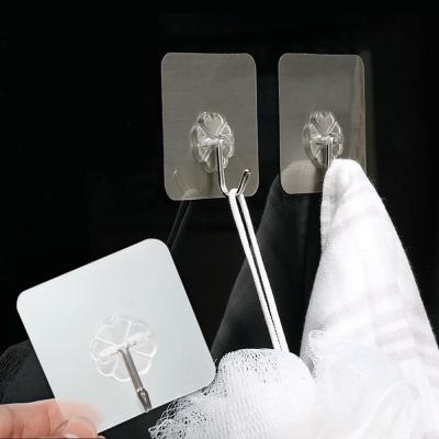 EZlife免釘免鑽強力無痕貼掛勾20入組(贈隙縫刷1組)