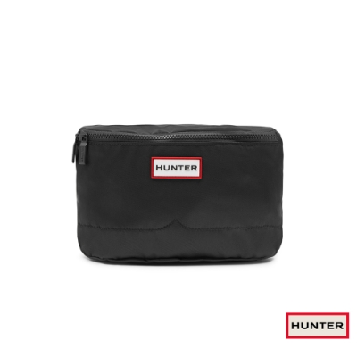 HUNTER -  尼龍側背包-黑