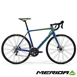 (無卡分期-12期)《MERIDA》跑車 SCULTURA斯特拉 DISC 400 藍 2018