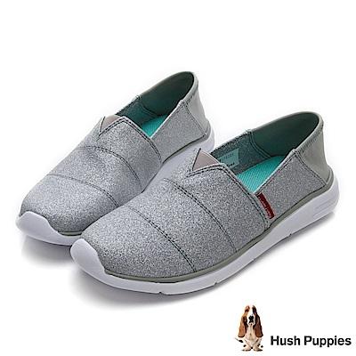 Hush Puppies Bittren 直套式休閒鞋-灰