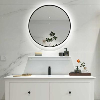 H&R安室家 布魯托 智能LED發光觸控圓型燈鏡 ZA0197(掛鏡/浴鏡/化妝鏡/鏡子)
