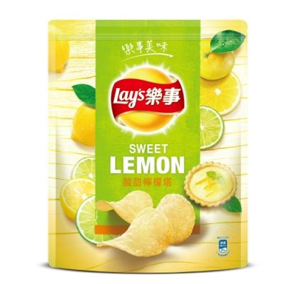 樂事 夾鏈包酸甜檸檬塔洋芋片(275g)