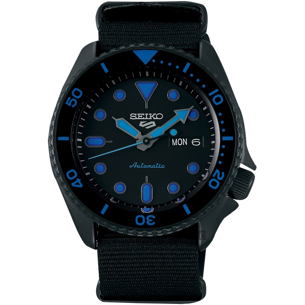 SEIKO 精工 5 Sports 系列機械錶(SRPD81K1)-42.5mm