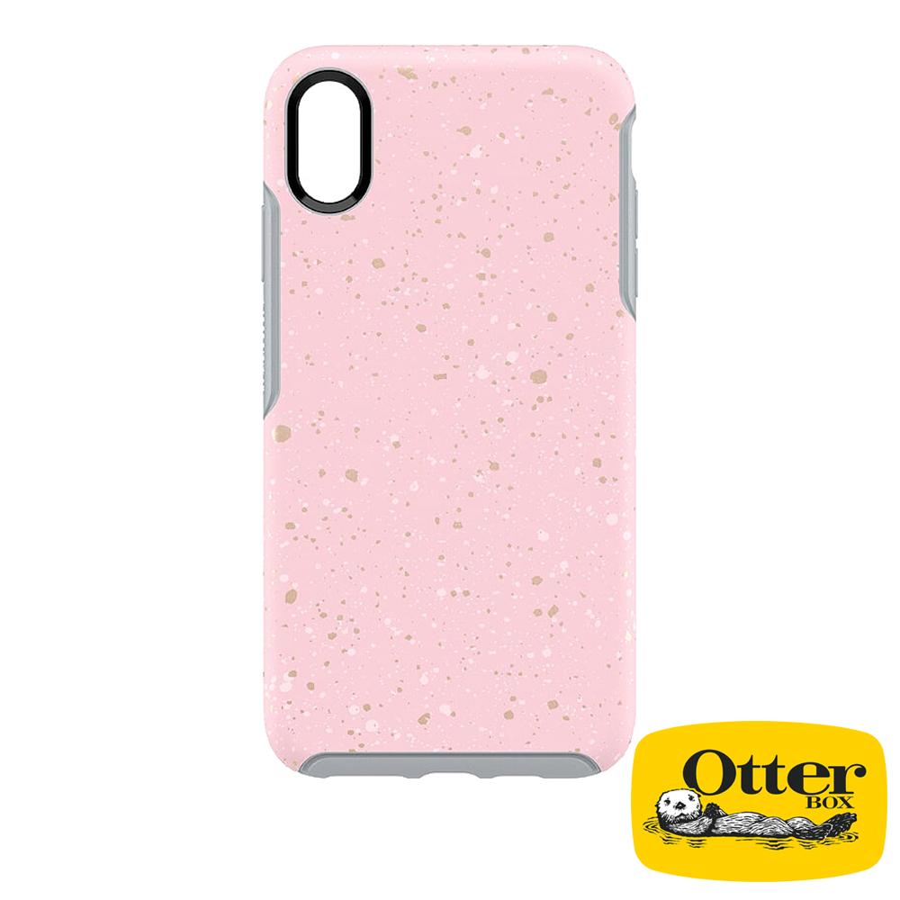 OtterBox iPhoneXS Max炫彩幾何彩繪系列保護殼-紅粉芳蹤