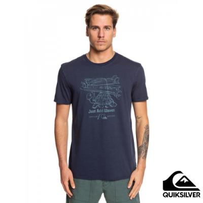 【QUIKSILVER】CURIOUS ADVENTURER SS T恤 海軍藍