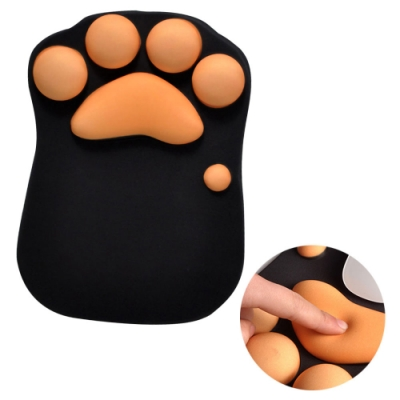 EZlife貓掌護腕滑鼠墊(贈文件收納袋)