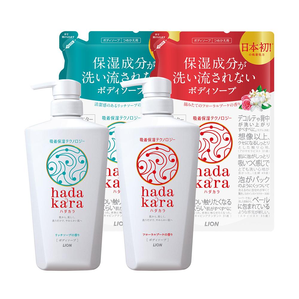 [時時樂限定+贈奈米樂20gx6]日本獅王LION 肌潤保濕沐浴乳1+1組合