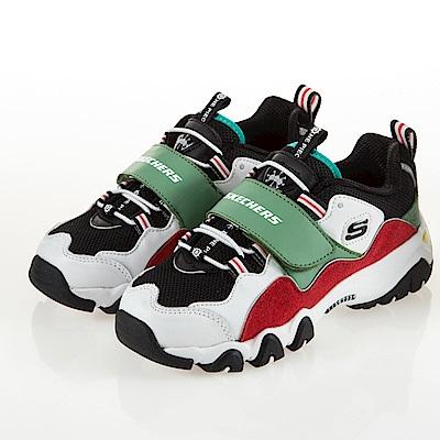 SKECHERS 童鞋 DLITES 2.0 航海王-黑鬍子 664211LWMLT
