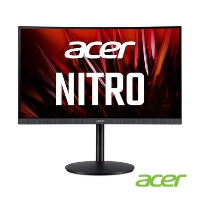 Acer XZ240Q P 24型曲面電競螢幕 支援FreeSync 1ms極速 165Hz更新 內建喇叭 HDR