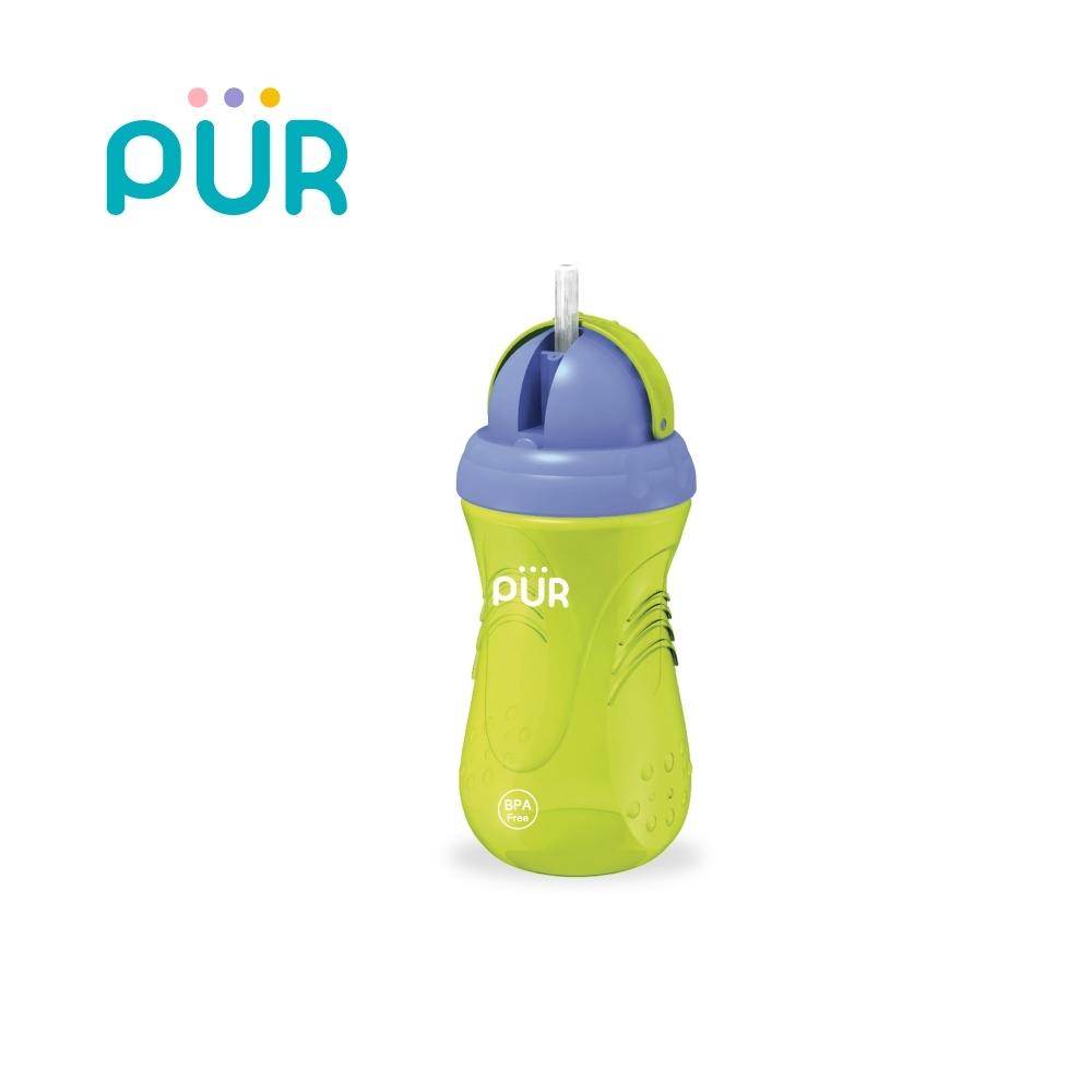 PUR 體育課-防漏水杯(吸管型)350ml