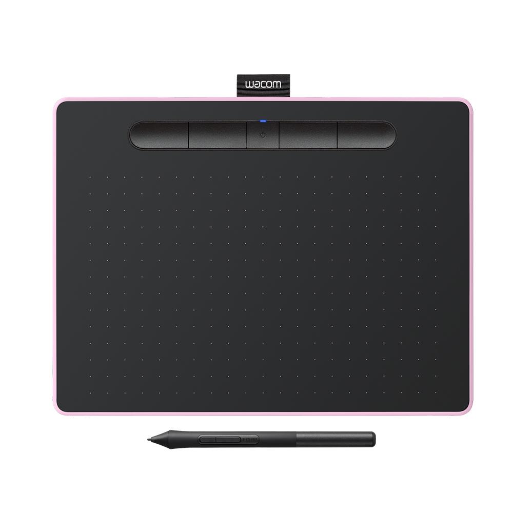 Wacom Intuos Comfort Plus Medium 繪圖板 (藍芽版)-粉