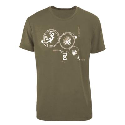 法國【EiDER】男排汗透氣短袖圓領衫 /  EIT1554墨綠