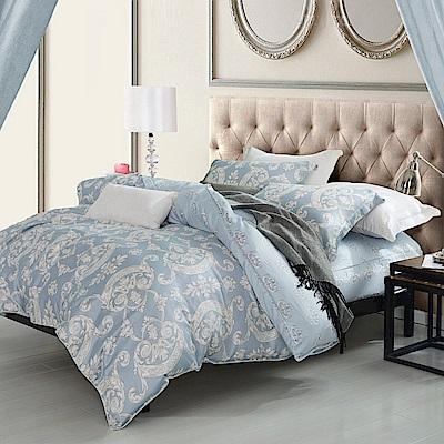 夢工場 如風吹拂 天絲頂規款兩用被鋪棉床包組-雙人