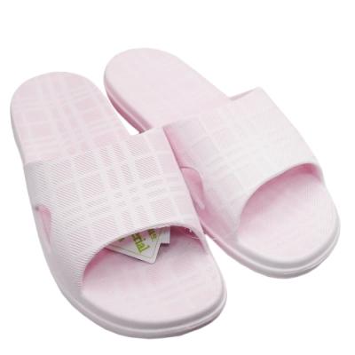 圓玫拖鞋 2雙入 -女-淺粉