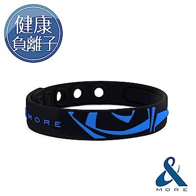 &MORE愛迪莫 KADORI負離子運動手環(耀眼藍)
