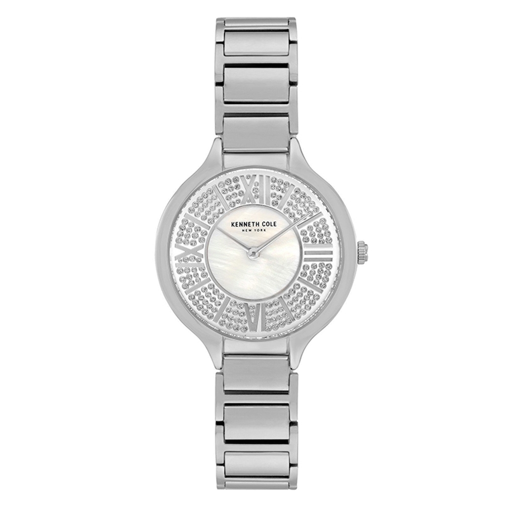 KENNETH COLE KC51011001 羅馬數字 滿天星 珍珠母貝 女錶 product image 1