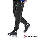 【AIRWALK】男款休閒棉長褲-黑迷彩