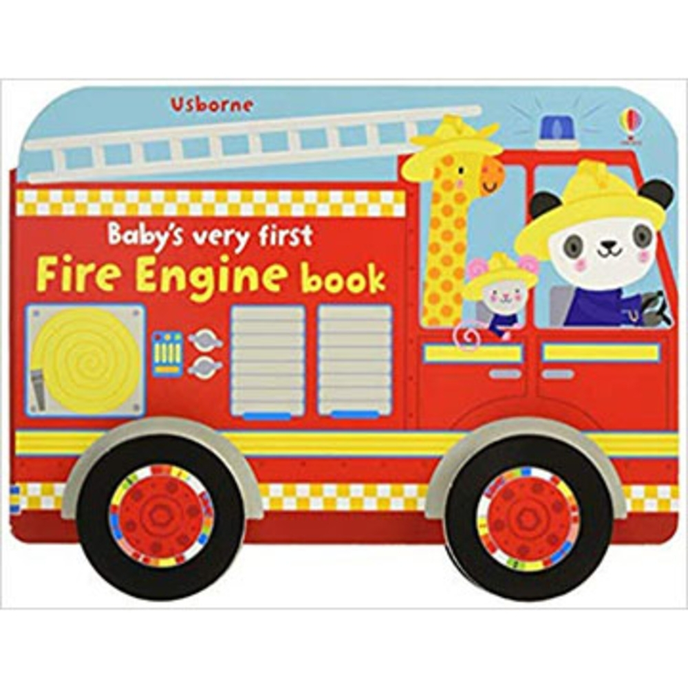Baby's Very First Fire Engine Book 寶寶的第一本消防車書