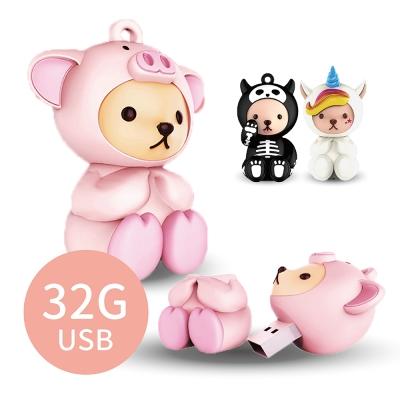 iStyle 泰迪熊造型USB隨身碟