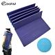 ADISI TPE雙色輕量摺疊瑜珈墊 AS17058 紫色-藍綠 厚度6mm product thumbnail 1