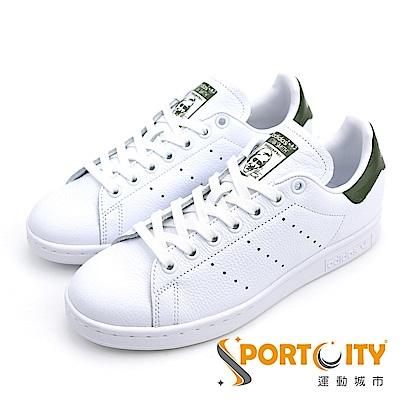 ADIDAS 休閒鞋 B41477白 綠