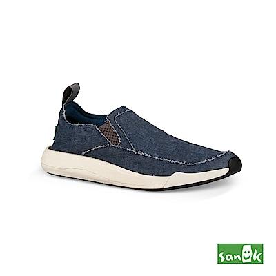 SANUK CHIBA QUEST率性拉環設計休閒鞋-中性款(藍色)