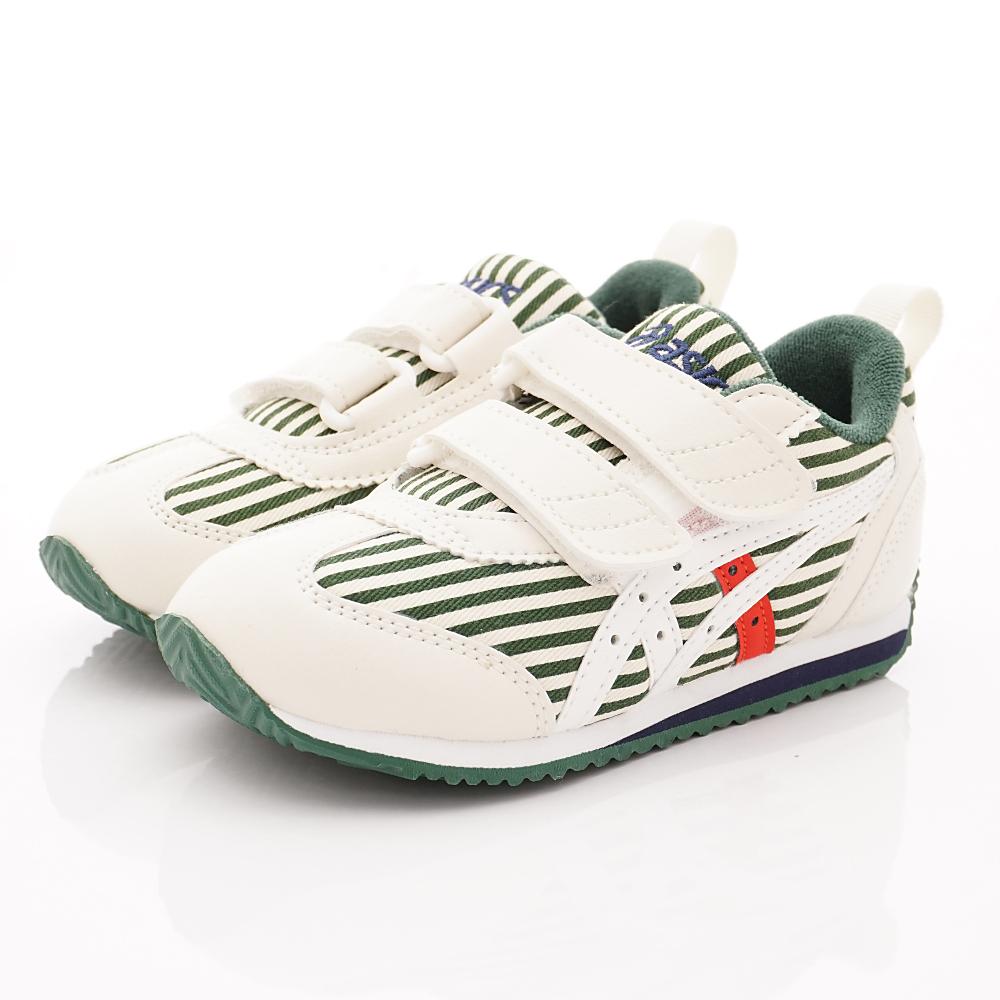 亞瑟士SUKU2機能鞋 經典護足款 ON87-300白綠(中小童段)