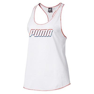 PUMA-女性基本系列Modern Sports休閒背心-白色-亞規