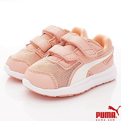 PUMA童鞋 雙絆帶透氣休閒款 ON90327-12粉(小童段)