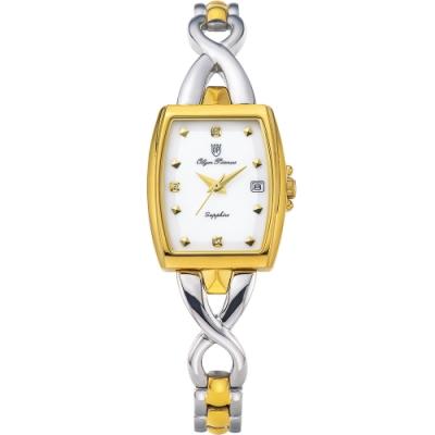 OlymPianus 奧柏表 雅致經典淑女鍊錶 2476LSK